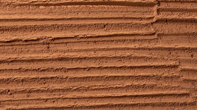 Close up of pottery texture