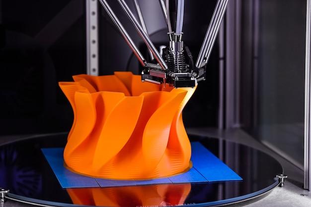 새로운 인쇄 기술의 프로세스를 닫습니다.