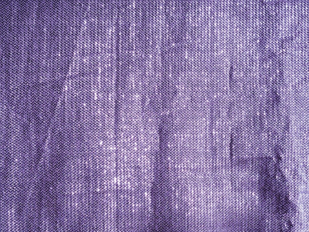 Close-up purple cloth material