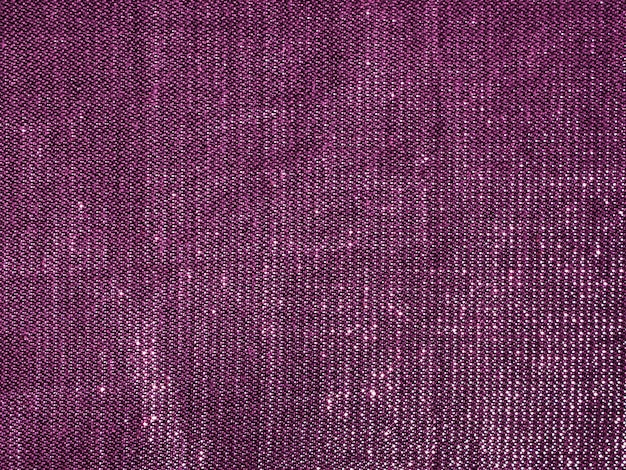 Close-up purple fabric cloth texture