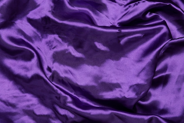 Close-up purple sheet background