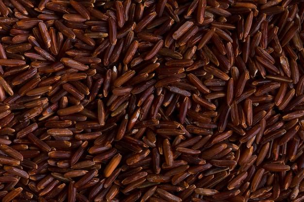 Close up rice texture