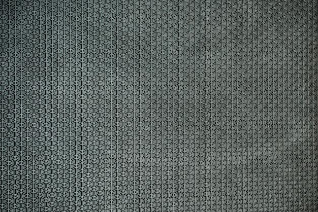 Primo piano sul dettaglio della trama del pavimento in gomma