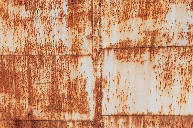 Close-up of rusty metal background