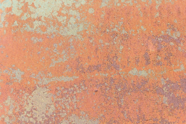 Close up rusty metal plate background