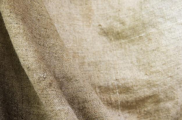 Close up of sack texture