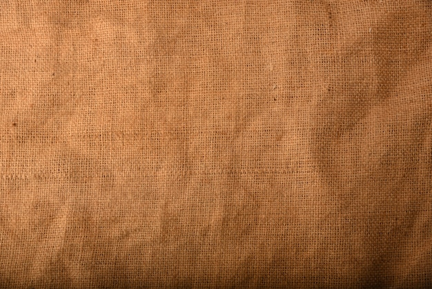Close up on sackcloth texture background
