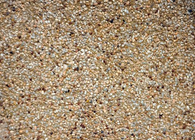 인테리어 배경 시멘트 디자인에 모래 바닥 텍스처를 닫습니다