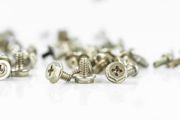 Close up screws