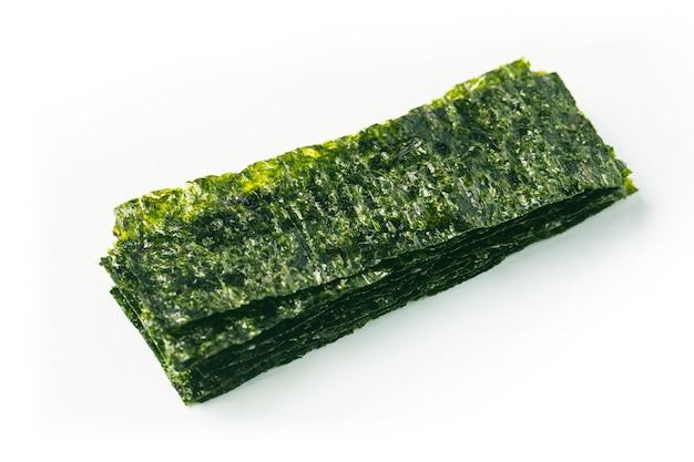 Primo piano di alghe