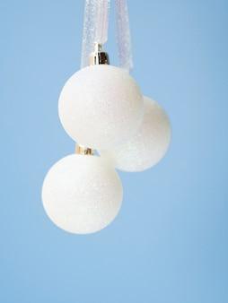 Close-up set of christmas balls