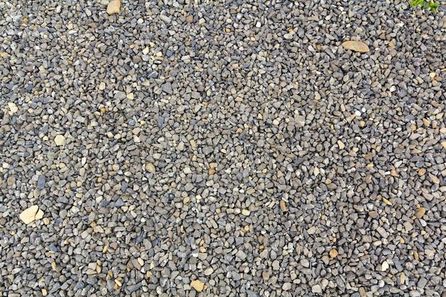 Крупным планом выстрел из гравийных камней галька камни в качестве фона