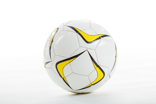 Close-up of soccer ball