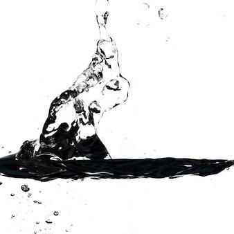 Close-up splash of water
