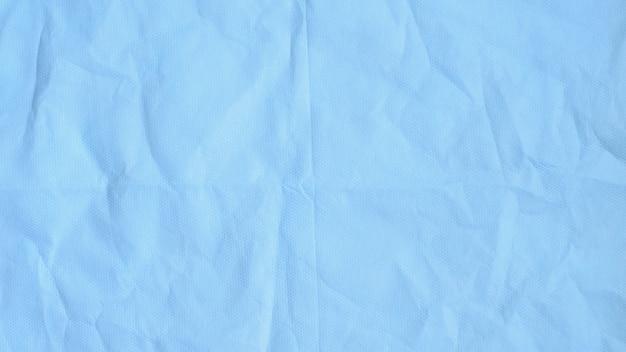 스펀 본드의 표면을 닫습니다. 의료 얼굴 마스크 재료 배경