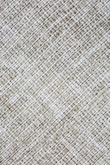 Close-up texture of factory fabric, interlacing of threads.