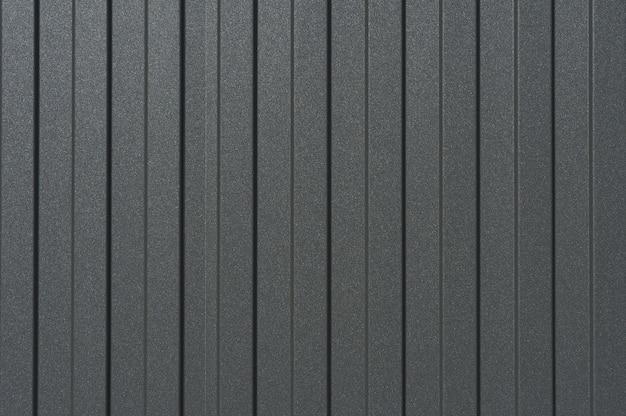 Close up texture of sheet metal dark gray