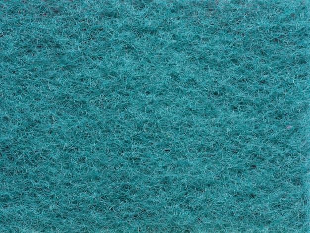 Close-up texture synthetic house cleaning cloth. top view