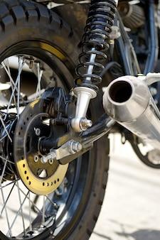 Close up trie motor