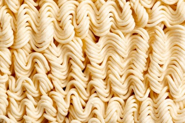 Close-up uncooked noodles