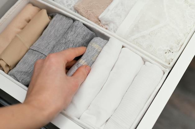 Классификация нижнего белья крупным планом