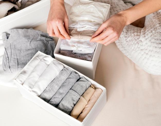 Close up underwear classification