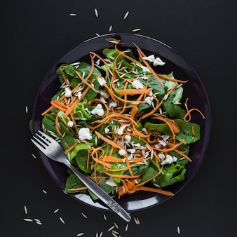Close-up vegetable salad