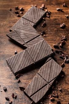 チョコレートバーの概念の拡大図