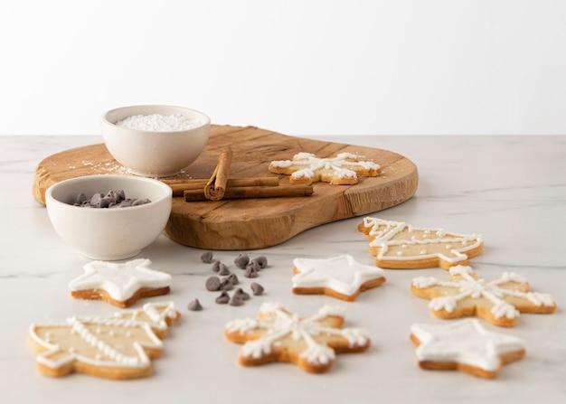 おいしいクッキーの概念の拡大図