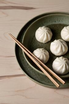 맛있는 만두의 클로즈업보기