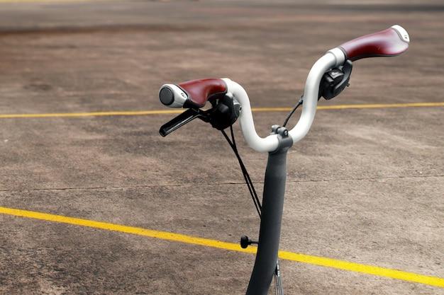 Крупным планом вид частей велосипеда