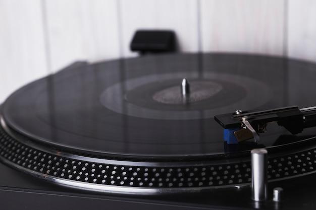 クローズアップ、レコード、レコード、レコード