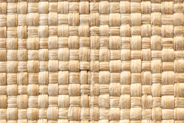 Close-up of weaved fabric texture