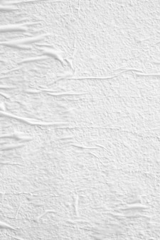Close up on white paper texture