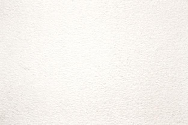 白い水彩紙のテクスチャの背景を閉じる