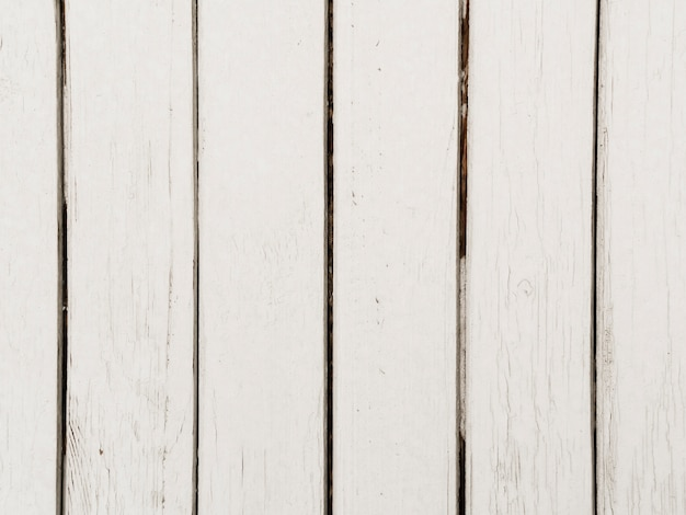 Close-up of white wooden textured background