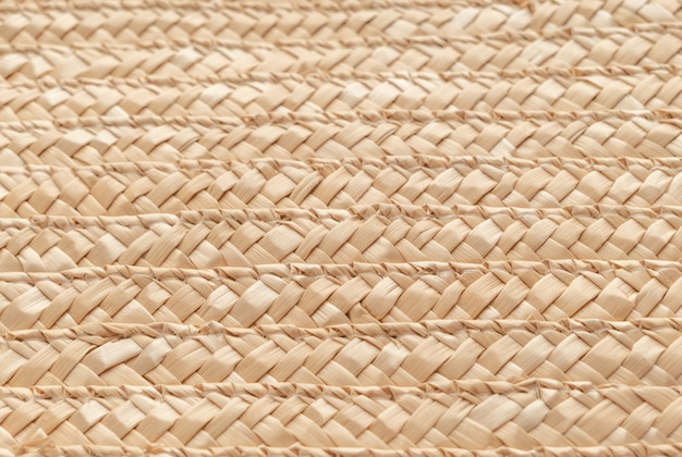 Close up wicker basket texture for use as background . woven basket texture.