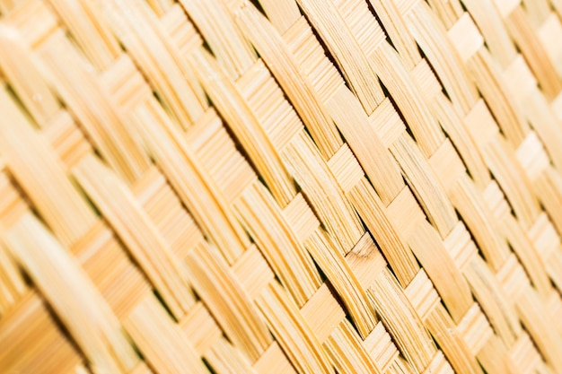 Close up wicker texture background.