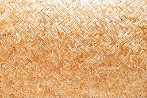 Close-up woven basket texture for background