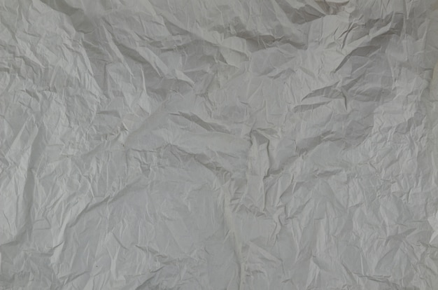 Close-up wrinkled paper texture