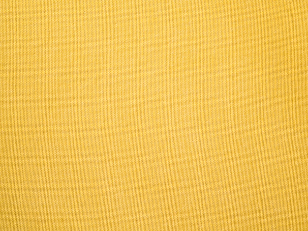 Close-up yellow fabric cloth