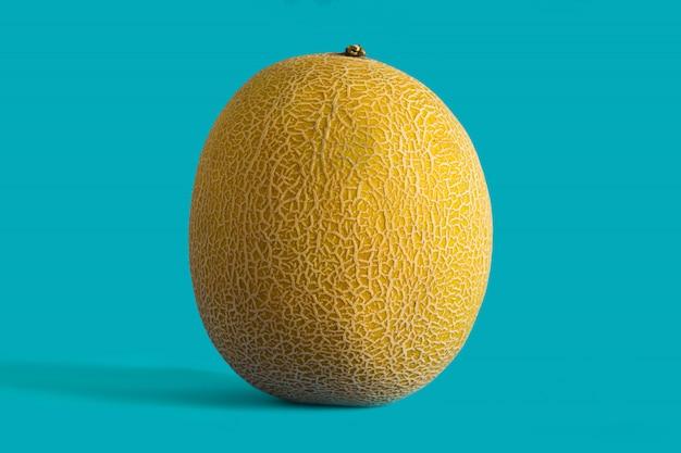 Close-up of yellow melon fruit