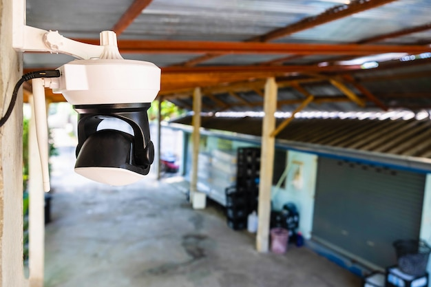 Closed circuit camera security protection