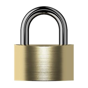 Closed lock isolated