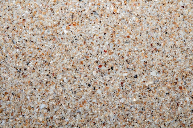 Closed up sand stones gravel texture pattern used for decoration background