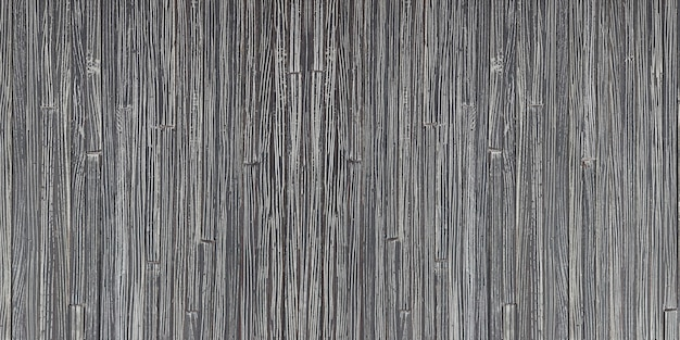 Closeup of black bamboo wall, beautiful rattan texture surface for background