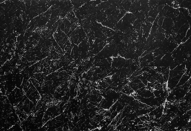 Closeup of black marble textured background