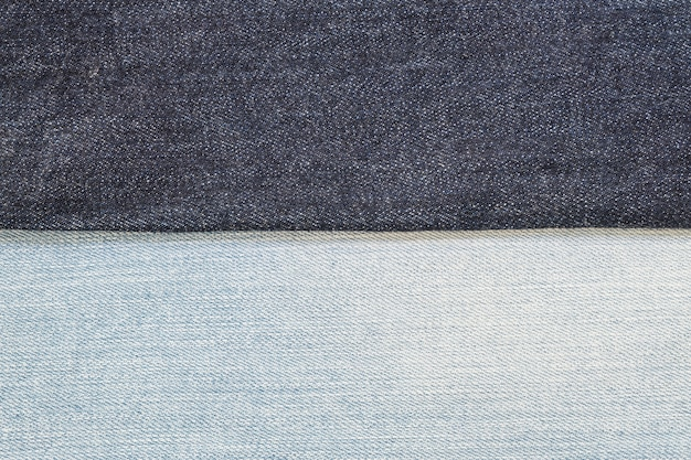 Closeup blue jean trousers fabric texture background
