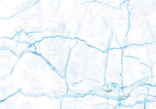 Closeup blue marble surface