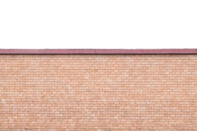 Closeup brick wall textured background